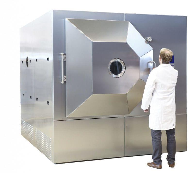 (适用于食品,生物冷冻干燥的Zirbus单仓批量EKS系列冻干机)